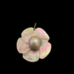 Abalone & Pearl Pendant